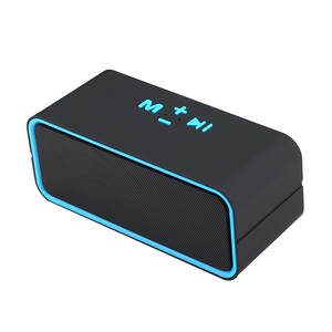 Bluetooth-Speaker Android-Cable Waterproof Audio-Device Voice-Activation Stereo Portable