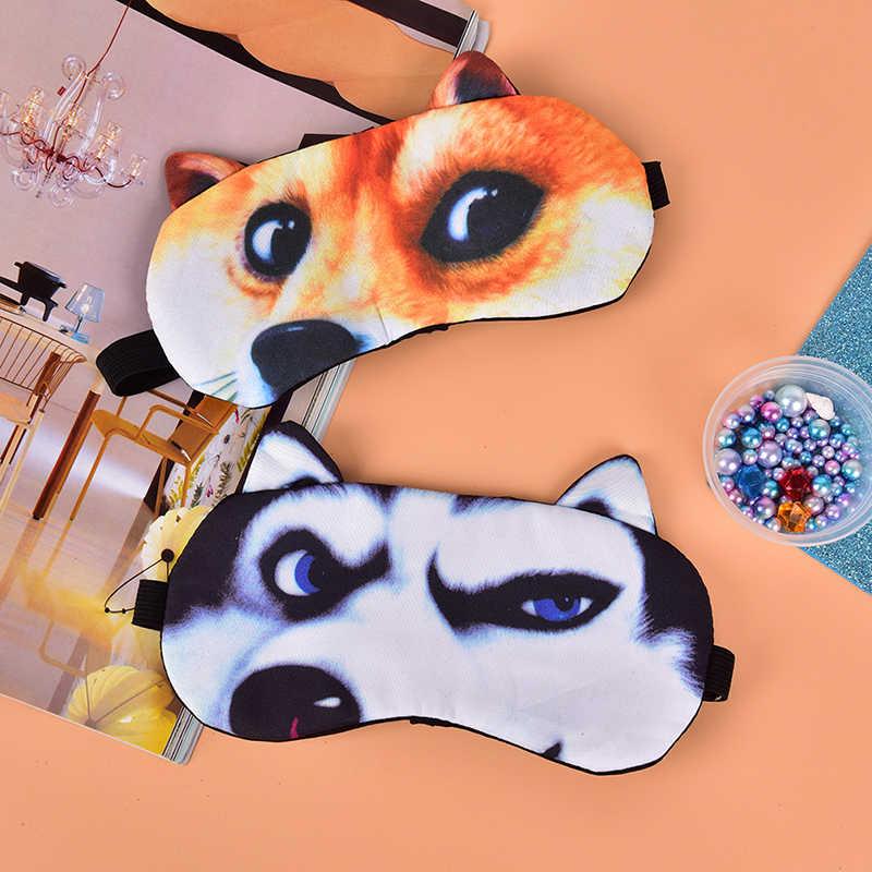 ผ้าฝ้าย Cat Dog Sleeping MASK Soft Blindfold แว่นตาผู้หญิงผู้ชาย Sleep Eyeshade Eye COVER น่ารัก Sleep Eyeshade Eye หน้ากาก