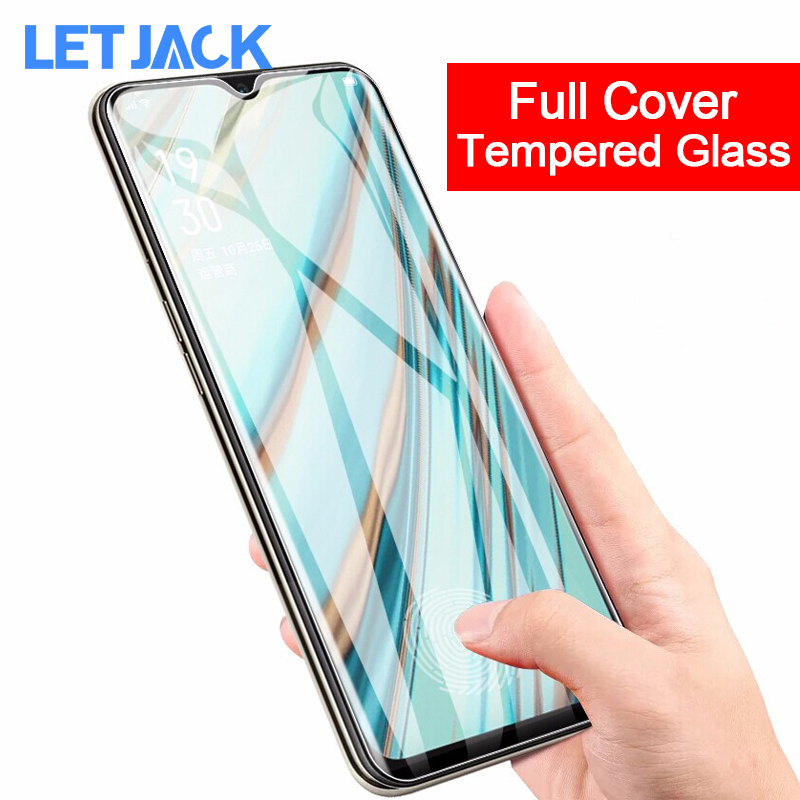 Full Cover Screen Protector for OPPO Realme XT X2 Pro 3 Pro Q Reno ACE Z 2 Tempered Glass for OPPO A9 K1 F11 Pro K5 Glass