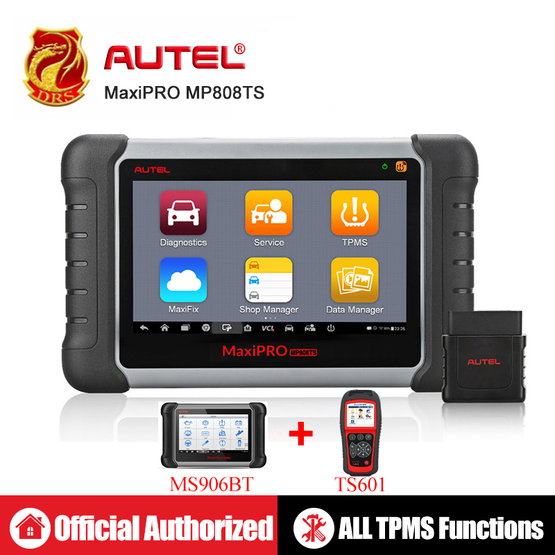 Autel MaxiPRO MP808TS OBDII Diagnostic Tool WIFI Bluetooth OBD2 Scanner Full TPMS Service TPMS Activation Programming
