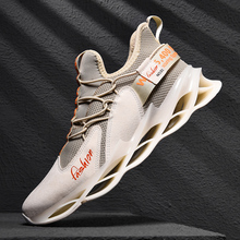 Big Size 46 Blade Bounce Men Sneakers Autumn Outdoors Breathable Sports Running