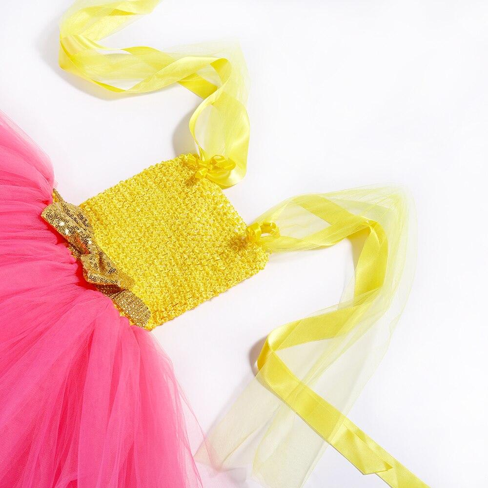 Image 5 - Princess Girls Lol Tutu Dress with Headband Cute Girl Birthday Party Dresses Kids Carnival Halloween Lol Dolls Cosplay CostumeDresses   -