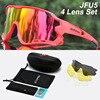 Acexpnm polarizado mountain bike ciclismo óculos de ciclismo esportes ao ar livre óculos uv400 4 lente ciclismo óculos de sol das mulheres dos homens 29