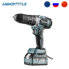 Minli Electric Hand Drill Impact Electric Drill Household Lithium Battery Pistol Drill