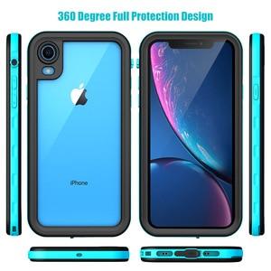 Image 5 - SHELLBOX IP68 מקרה עמיד למים עבור iPhone 11 פרו מקסימום X XS ברור MAX 360 עמיד הלם כיסוי מקרים עבור iPhone XR 8 7 בתוספת טלפון מקרה