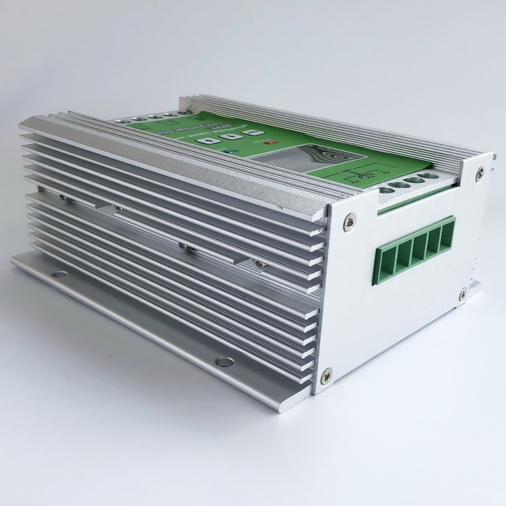 1400W MPPT Wind Solar Hybrid Boost Charge Controller 12V 24V apply for 800W 600W wind turbine generator +600W 400W solar panels-in Solar Controllers from Home Improvement    2