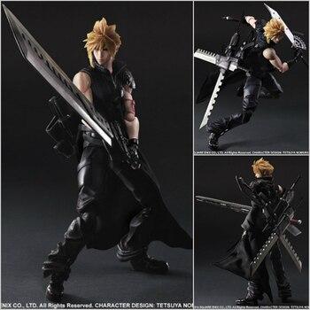 Play Arts Kai Final Fantasy Cloud Strife Action Figure Collectible Model Toys 26cm PA