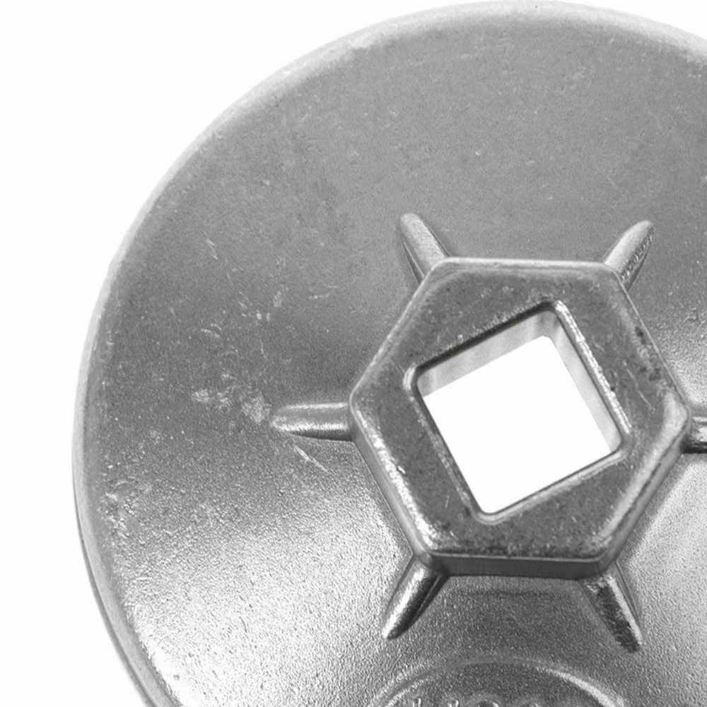 74mm 14 플루트 알루미늄 오일 필터 렌치 소켓 리무버 도구 bmw 벤츠 아우디