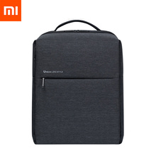 Original Xiaomi Mi กระเป๋าเป้สะพายหลัง 2 Urban Life กระเป๋าไหล่สไตล์ Rucksack Daypack กระเป๋า Duffel กระเป๋าเหมาะกับแล็ปท็อปขนาด 15.6 นิ้ว portab