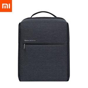 Image 1 - Оригинальный рюкзак XiaomI Mi 2, наплечная сумка в городском стиле, рюкзак, школьный рюкзак, вещевая сумка, подходит для ноутбука 15,6 дюйма