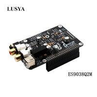 Lusya ES9038q2m Digital broadcast Decoder board OPA1612 Op I2S 32bit/384K DSD128 for Raspberry pi 2B 3B 3B+ DAC G3 001