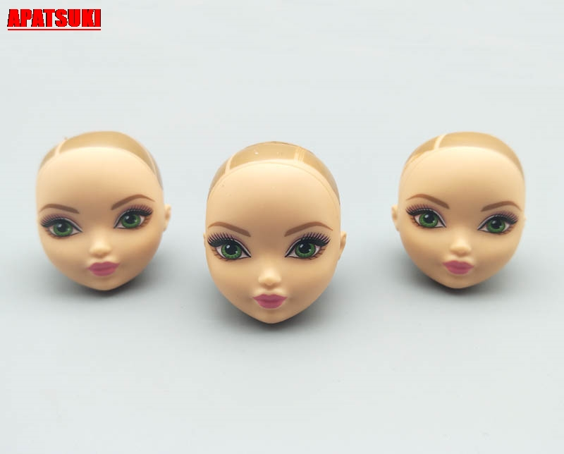 1pc Soft Plastic Doll Head For Monster High Doll Heads For 1:6 BJD Dolls  Without Hair Head For Monster Doll Accessories Kid Toy