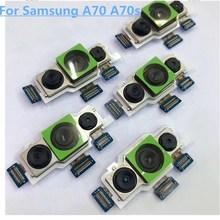 Запасная задняя камера для samsung Galaxy A70 A70s, запасные части для задней камеры, гибкий кабель
