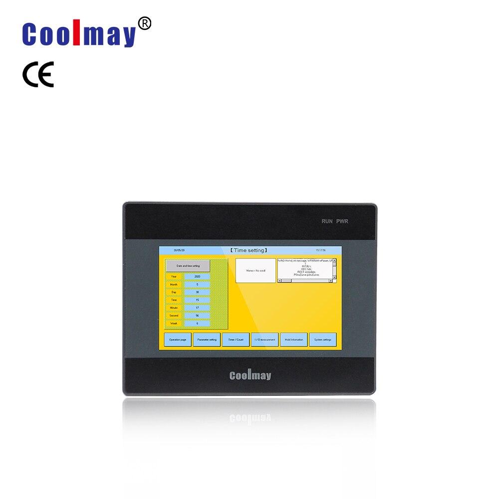 4.3 polegada tk6043fh hmi tela de toque lcd painel 480*272 resolução controlador cnc monitor controle industrial