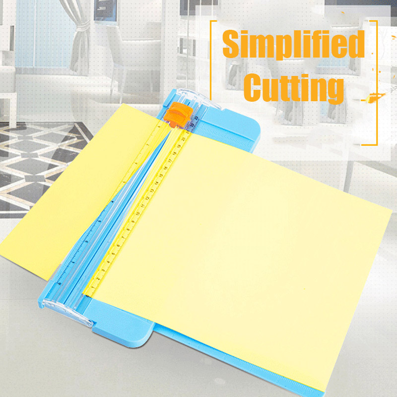 Paper Cutter Replacement Blades With Automatic Security Safeguard For A4 Paper Trimmer TU-shop