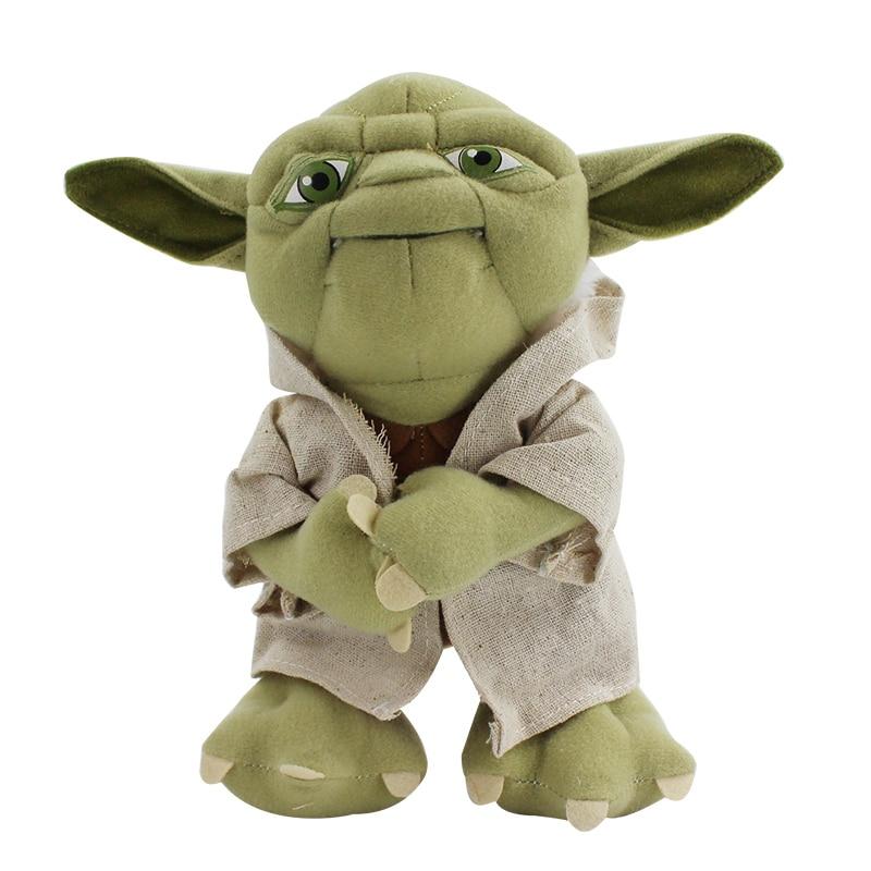 Kawaii Yoda Cartoon Soft Stuffed Animal Doll Cute Yoda Plush Doll Toy Baby Kids Toy Birthday Gift