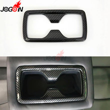 Car Styling Inner Decoration Back Water Drink Cup Holder Cover Trim Sticker For Toyota RAV4