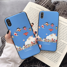 Cute Cartoon Robot Cat phone case for For Huawei mate20 pro 20x P20 p30 Pro lite honor 10 20 10i silicone covers