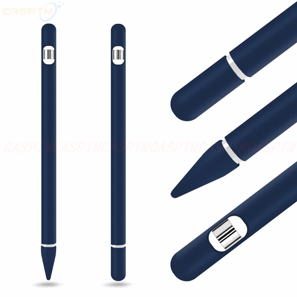 For IPad Tablet Touch Pen Accessories Soft Silicone Case For Apple Pencil 1 Anti-lost Protective Sleeve Cover For IPad Pencil