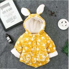 Хлопковая стеганая куртка в горошек для маленьких девочек