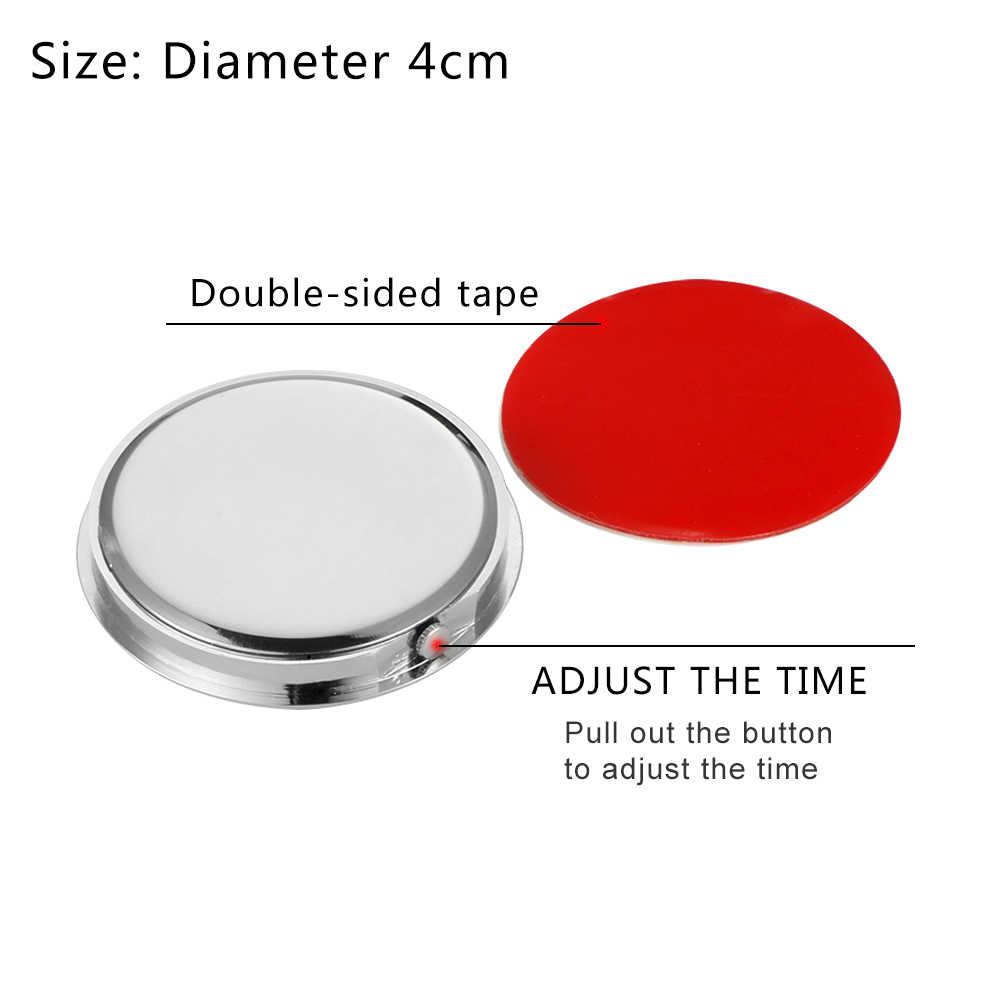 Relógio de carro luminoso mini automóveis interno vara-no relógio digital mecânica relógios de quartzo ornamento automático acessórios do carro presentes