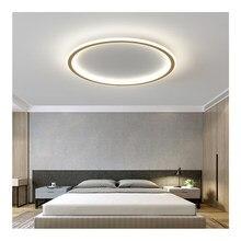 Pendurado lâmpadas de teto moderna sala de jantar conduziu a luz do painel para o quarto das crianças sala estar interior luminárias corredor decoração