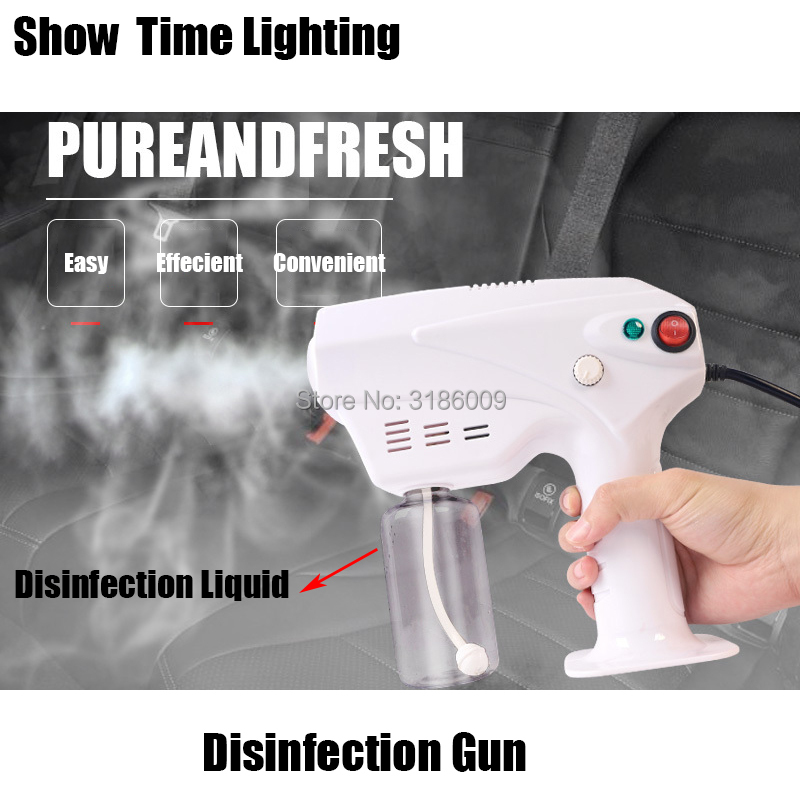 Easy To Operating Car Disinfection Machine 900W Amotization Fogger Gun Handheld Sterilization For Home Car Office Kill Virus