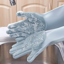 2 шт. = 1 пара силиконовые кухонные чистящий посудомоечный перчатки волшебные резиновые моющиеся перчатки Инструменты Кухонные гаджеты