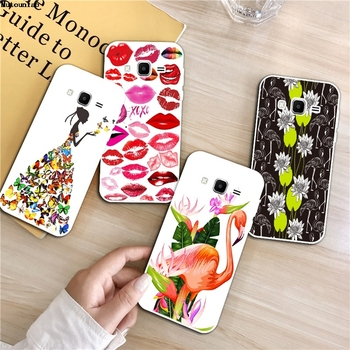 Flamingo 1 Silicon Soft TPU Case Cover For Samsung Galaxy Core Grand Prime Neo Plus 2 G360 G530 I9060 G7106 Note 3 4 5 8 9 image