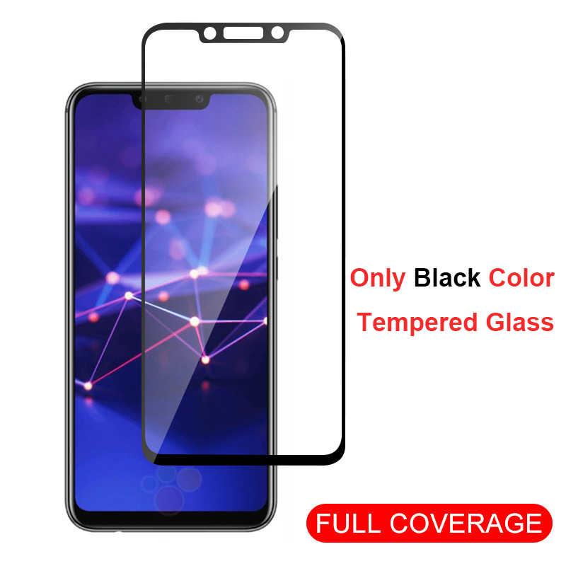 2Pcs Pelindung Anti Gores untuk Huawei P20 P30 P10 Lite Pro Screen Protector untuk Huawei Mate20 30 Lite Kaca P Smart 2019