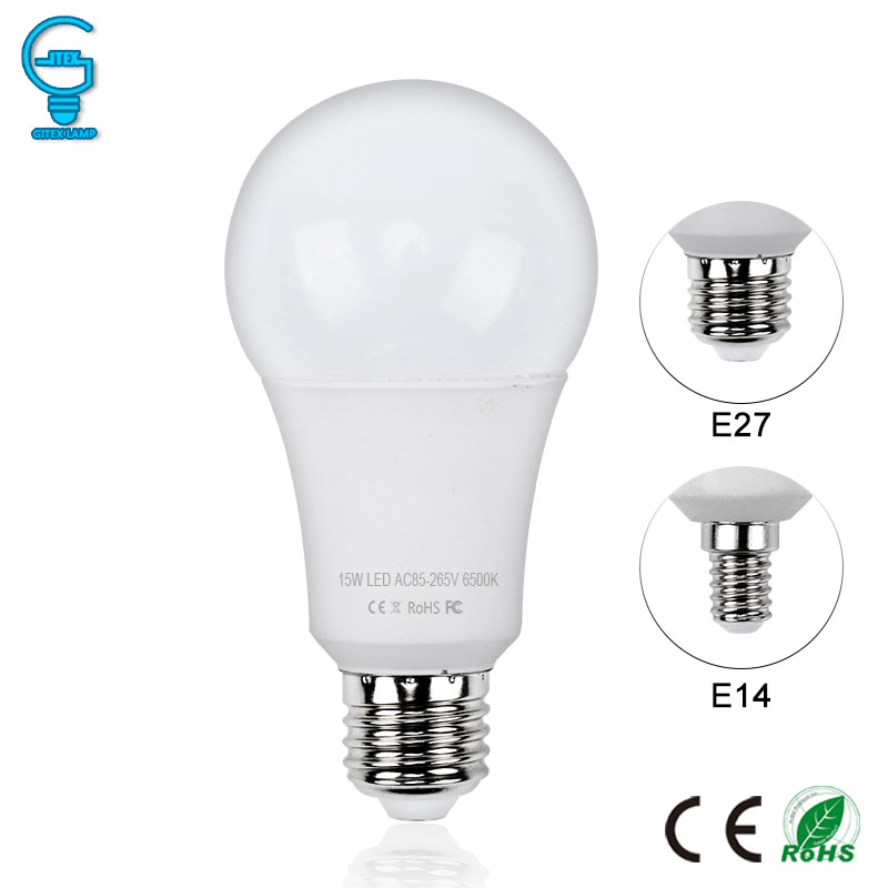 LED Bulb E27 E14 220V 240V Real Power LED Lamp Light 3W 5W 7W 9W 12W 15W Light Bulb SMD 2835 Lampada LED Bombillas Spotlight
