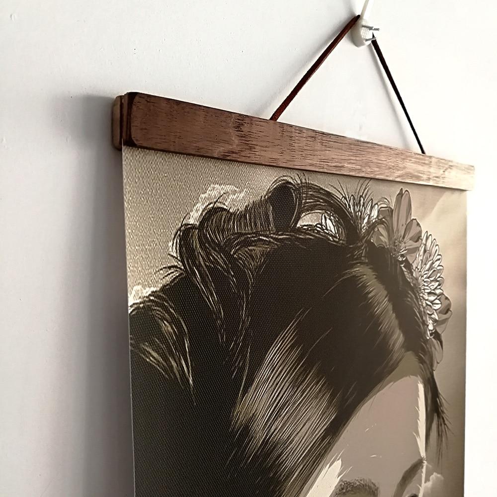 Tableau japonais guerrier Ukiyoe 3 Ukiyoe peinture sur toile avec cadre art mural de d coration