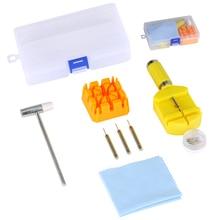 12pcs/set Watch Repairing Tools Kit Durable Watch Band Hamme