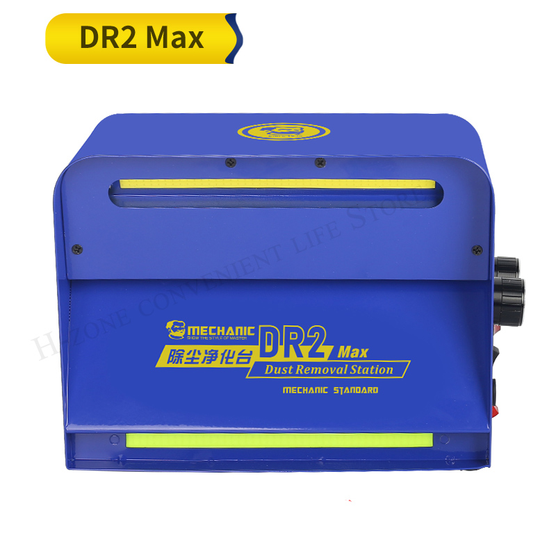 Tools : Newest MECHANIC DR2 Max Mini Dust Free Room Work Table Phone cover LCD screen Repair Machine Cleaning Room purification station