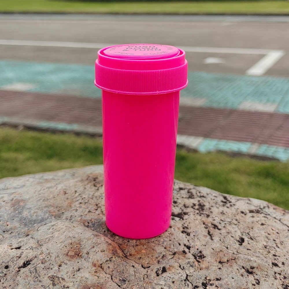 HORNET 30Dram Push Down & Turn fiolka pojemnik tworzywo akrylowe Stroage Stash Jar butelka na pigułki skrzynka pudełko tytoniu pojemnik na zioła