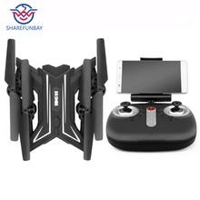 Drone ky601s zdalnie sterowany dron helikopter z kamerą HD 1080 P WIFI FPV dron do selfie profesjonalny składany Quadcopter 20 minut baterii