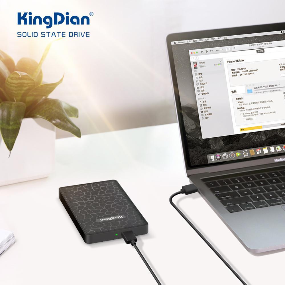 """KingDian SSD 2.5"""" External Hard Drive Disk 120gb 240gb 500gb 1tb HDD 512gb 256gb 128gb SSD disco duro externo Solid State Drives External Solid State Drives     - title="""