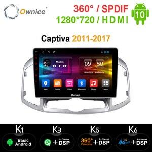 Image 1 - Ownice Radio Multimedia con GPS para coche, Radio con DVD, Android 10,0, 8 núcleos, estéreo, k3, k6, DSP, 4G, SPDIF
