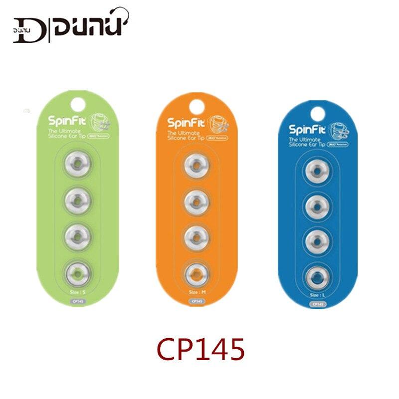 DUNU SpinFit CP100 CP800 CP220 CP230 CP240 écouteurs intra-auriculaires embouts en Silicone brevetés 1 paire (2 pièces) pour FiiO F DK3001