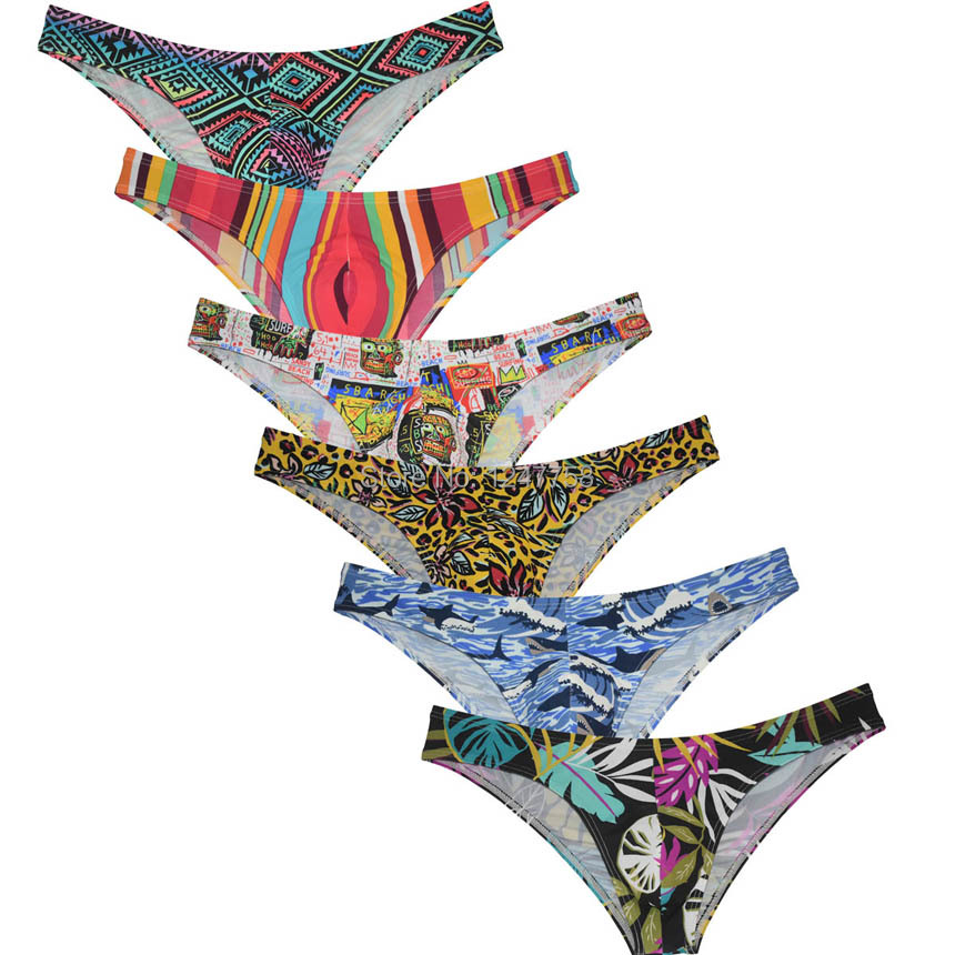 Sexy Half Cover Cheeky Briefs Men's Underwear Pucker Posing Sposrts Bikini Briefs Jockstrap Slip Homme Pouch Underwear