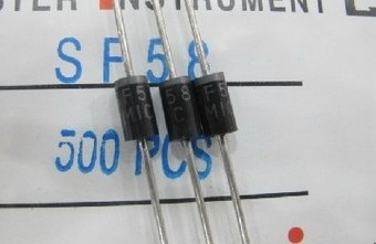 10pcs/lot Fast Recovery Diode SF58 DO-27 MIC Original Genuine 5A 600VSF58