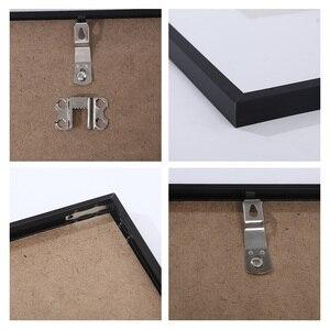 Современный минималистичный металлический Фотофон с рамкой из плексигласа матовые черно-белые фоторамки для картины на холсте настенная ж...