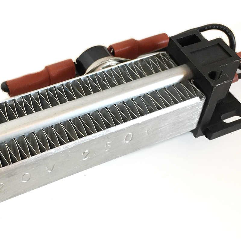 250 Вт 110 В AC DC изолированный PTC керамический воздушный нагреватель PTC нагревательный элемент электрический нагреватель 140*32 мм