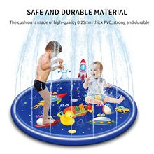 Sprinkler Play-Pad Outdoor Inflatable Kids Water-Spray Sports-Toys Lawn Sea-Animal Beach