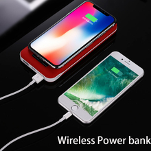 Portable Waterproof Portable  Wireless Power Bank 10000 MAh for All Smart Phone Battery Powerbank Fast Charging External Battery