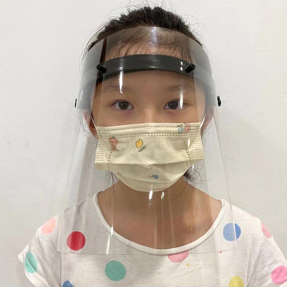 Transparent Mask Dustproof Protective Facial Mask Particulate Respirator Anti-Spitting Splash Hat Windproof Sand Windshield Hat