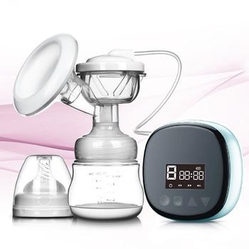 3-in-1 Electric Breast Pump Liquid Silicone Lactator Mute Baby Breast Pump Automatic Milking Machine Breastfeeding Accessories