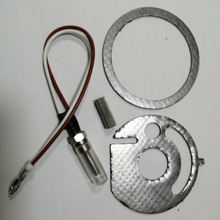 For Eberspacher Hydronic 12V D3WSC D4WSC D5WSC Water Coolant Heater Glow Plug 252106011000 +2pcs Gasket+ 1pcs Glow Plug Strainer