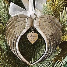Лента с крыльями ангела рождественская подвеска кусок моего