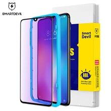 SmartDevil анти синее легкое закаленное стекло для Xiaomi mi 9se mi 9 Защитная пленка для экрана легко установить ультратонкий устойчивый к царапинам